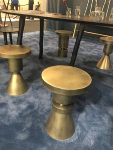 Nicola Manning Design Interior Design Blog Colour Trends 2017 ICFF New York Brass Stools