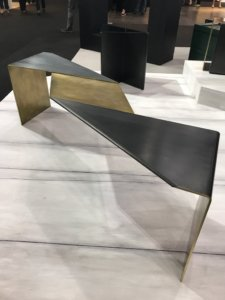 Nicola Manning Design Interior Design Blog Colour Trends 2017 ICFF New York metal twisted table