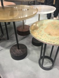 Nicola Manning Design Interior Design Blog Colour Trends 2017 ICFF New York mixed surface tables