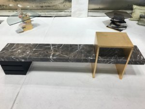 Nicola Manning Design Interior Design Blog Colour Trends 2017 ICFF New York stone and timber table