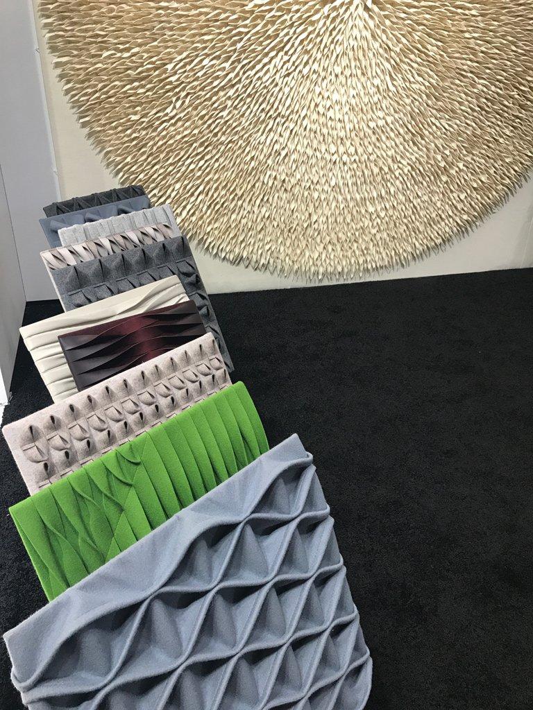 Nicola Manning Design Interior Design Blog Colour Trends 2017 ICFF New York Acoustic Panels