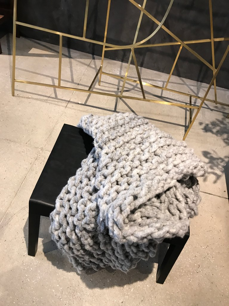Nicola Manning Design Interior Design Trends Blog ICFF 2017 New York Textured Throw