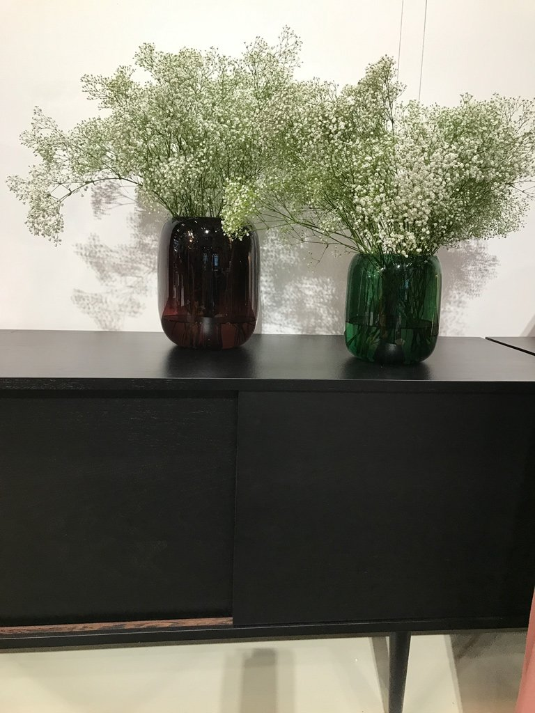 Nicola Manning Design Interior Design Trends Blog ICFF 2017 New York Coloured Vases