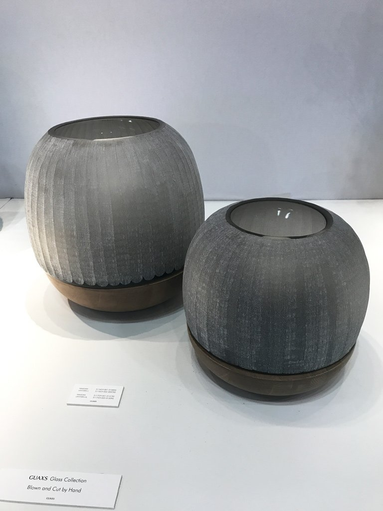 Nicola Manning Design Interior Design Trends Blog Series ICFF 2017 New York Accessories Grey Textured Vases