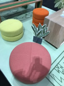 Nicola-Manning-Design-Macroon-type-Pouffs-ICFF-2017-New-York Furniture Trends Blog