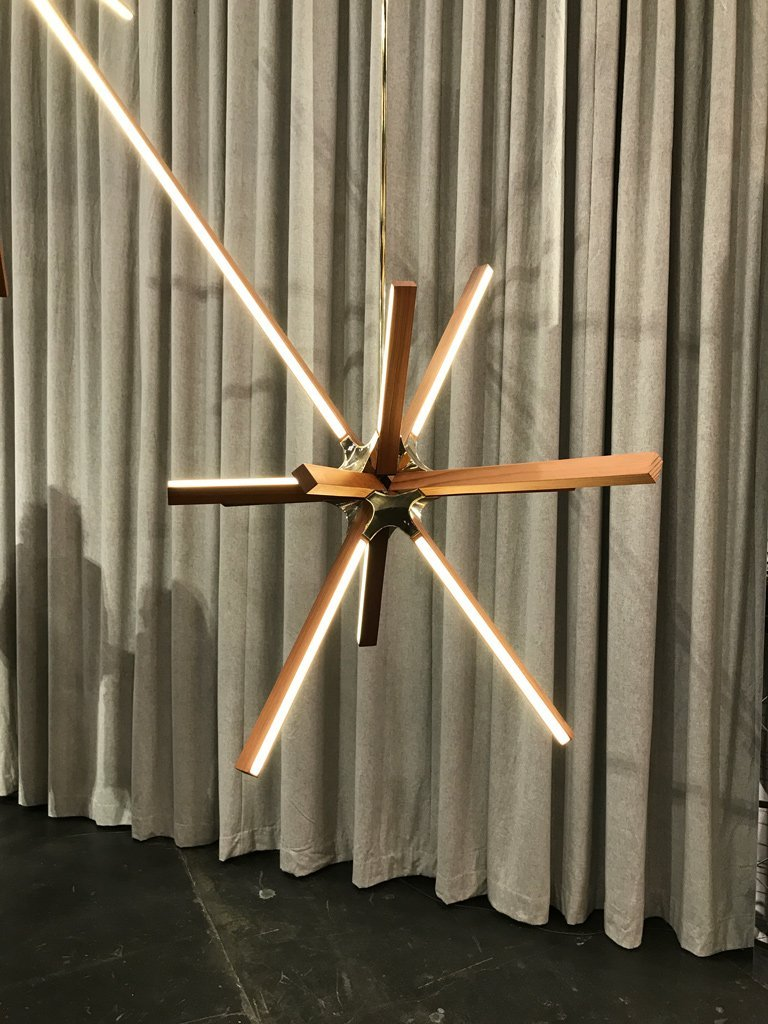 Nicola Manning Design ICFF New York Blog Series lighting interior design