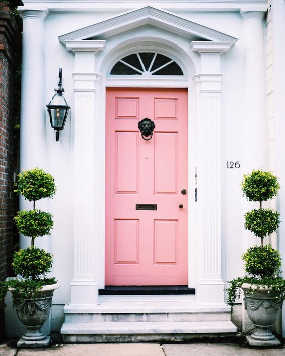 Nicola Manning Design Blog Pink Front Door