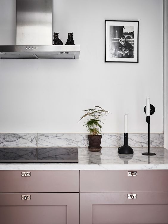 Nicola Manning Design Blog Pink Dusky Pink Kitchen Cabinetry
